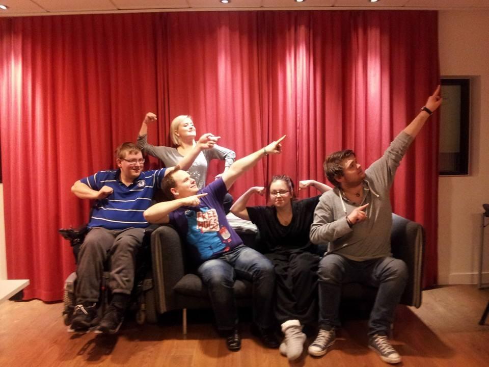 FFMU ambassadørene er klare til å fortelle om det å  leve med muskelsykdom
