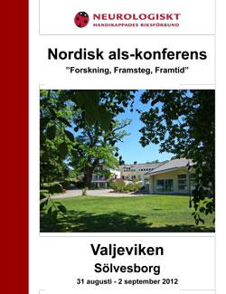 """Nordisk als-konferens – """"Forskning, Framsteg, Framtid"""""""