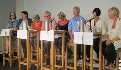 Rehabiliteringsdebatt på Litteraturhuset (2013)