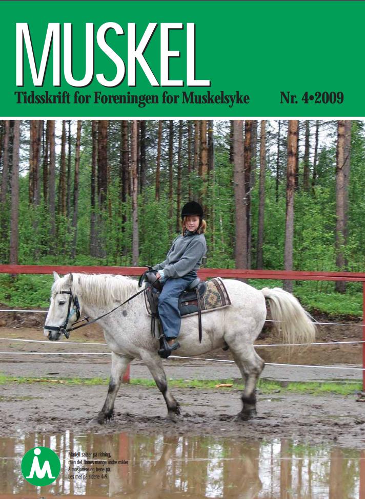 Muskelnytt nr.4 2009