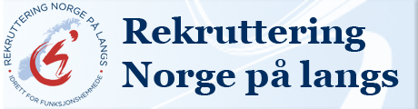 Rekruttering Norge på langs