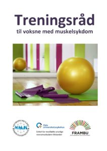 Nytt hefte - Treningsråd til voksne med muskelsykdom