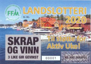 FFMs Landslotteri 2020