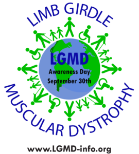 Internasjonal dag for Limb girdle muskeldystrofi (LGMD) 30.september
