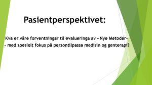 Arendalsuka 2021 – FFM deltar på seminar og debatt om evaluering av nye metoder og medisinsk genterapi